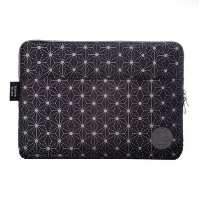 """Laptop Bag Silver HT 13"""" Geometric Black"""