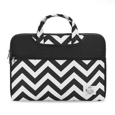 "Laptop Bag E-Vita Cheveron 15.6"" Black/White (EVLS000100)"