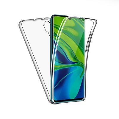 Silicone 360º Cover Xiaomi Mi Note 10 Transparent
