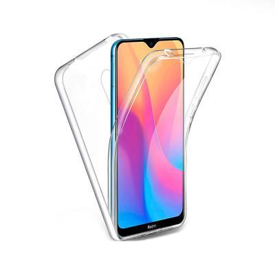 Capa Silicone Frente e Verso Xiaomi Redmi 8/8A Transparente