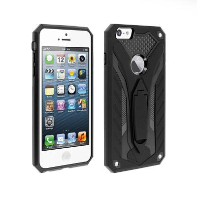 Protective Phantom Cover Forcell iPhone 5S/SE Black