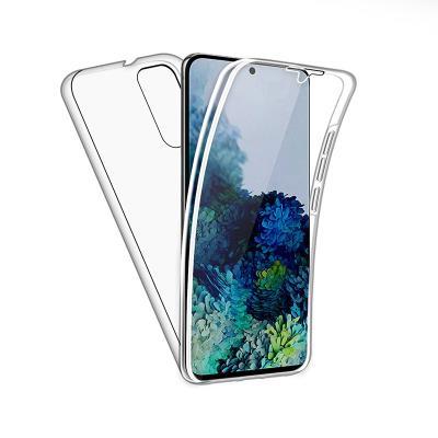 Capa Silicone Frente e Verso Samsung Galaxy S20 G980 Transparente