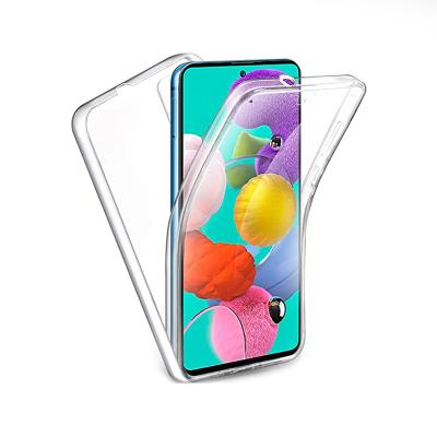 Capa Silicone Frente e Verso Samsung Galaxy A51 A515 Transparente