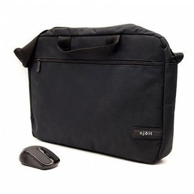 "Laptop Bag + Mouse Njoit 15.6"" Black"