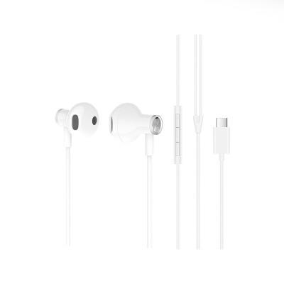 Auriculares Xiaomi USB Tipo-C Dual Driver Earphones Brancos