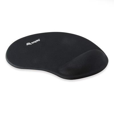 Ergonomic Mousepad Equip Life Black Gel
