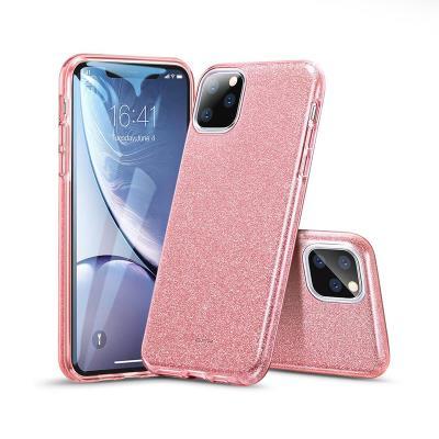 Glitter Silicone Cover ESR Makeup iPhone 11 Pro Max Pink