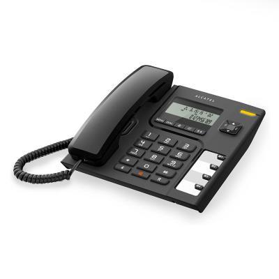 Telefone Fixo Alcatel T56 Preto