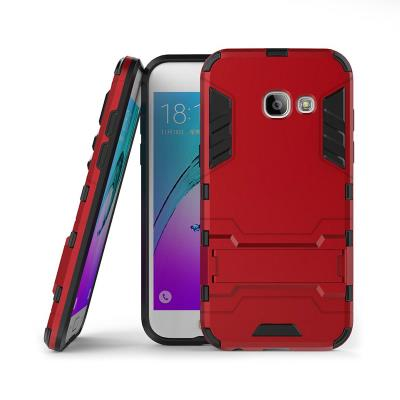 Protective Cover Shield Samsung Galaxy A3 2017 A320 Red