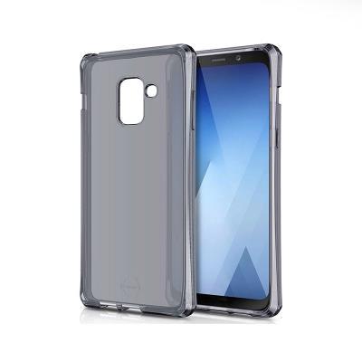 Silicone Cover ITSKINS Samsung Galaxy A8 A530 Transparent Dark