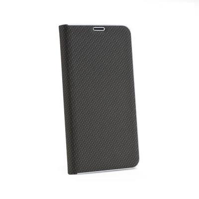 Capa Flip Cover Premium Xiaomi Redmi 7 Luna Carbon Preta