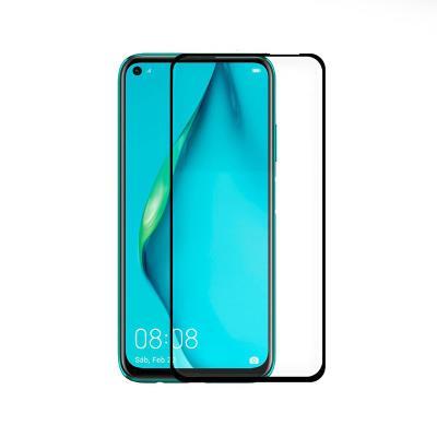 Película de Vidro Temperado Huawei P40 Lite Fullscreen Preta