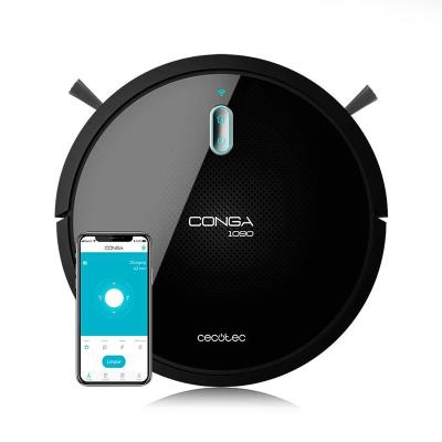 Robot Vacuum Cleaner Cecotec Conga 1090 Connected Force Black