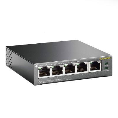 Switch Gigabit 5 Portas TP-Link PoE (TL-SG1005P)