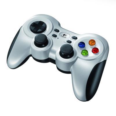 Gamepad Logitech F710 Wireless Prateado