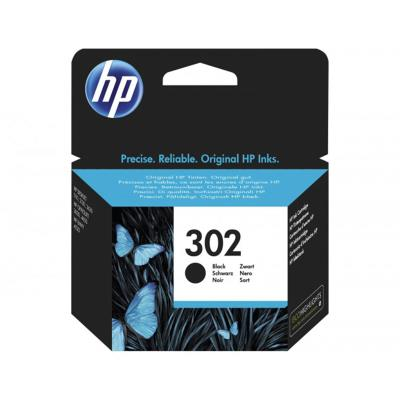 Ink Cartridge HP 302 Black (F6U66AE)