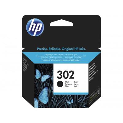 Ink Cartridge HP 302 Black (F6U66AE)