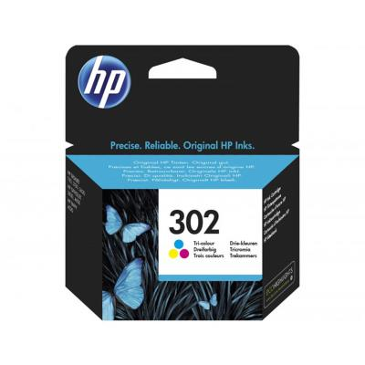 Ink Cartridge HP 302 Tricolor (F6U65AE)