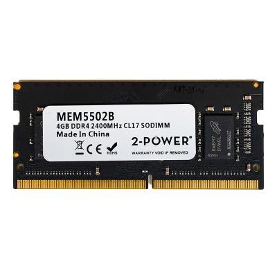 RAM Memory 2-Power 4GB DDR4 2400MHz CL17 SODIMM (MEM5502B)