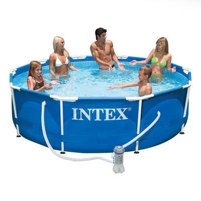 Metal Frame Swimming Pool Intex 28212GN 366x76 cm