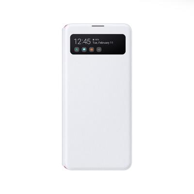 S-View Cover Original Samsung Galaxy A41 White (EF-EA415PWE)