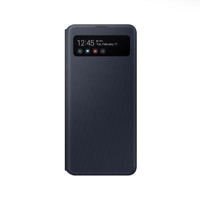 S-View Cover Original Samsung Galaxy A41 Black (EF-EA415PBE)