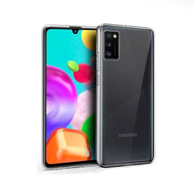 Silicone Cover Samsung Galaxy A41 A415 Transparent