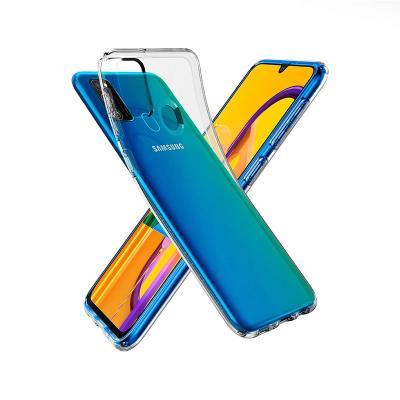 Silicone Cover Samsung Galaxy M21 M215 Transparent