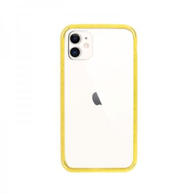 Capa Hard iPhone 11 Transparente/Amarela