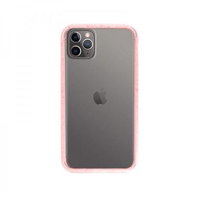 Capa Hard iPhone 11 Pro Transparente/Rosa