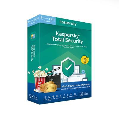 Antivirus Kaspersky Total Security 2020 3 Users 1 Ano