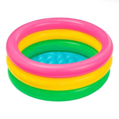 Inflatable pool Intex 61x22 cm Pink/Yellow/Green (57107NP)