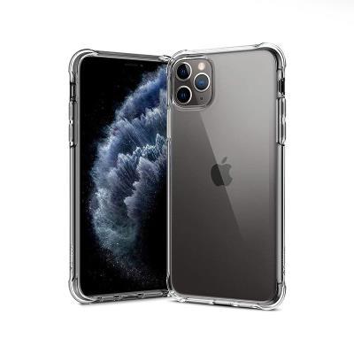 Capa Silicone Reforçada iPhone 11 Pro Max Transparente