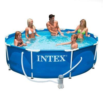 Pool Intex 305x76 cm C/Filter Blue (28202NP)