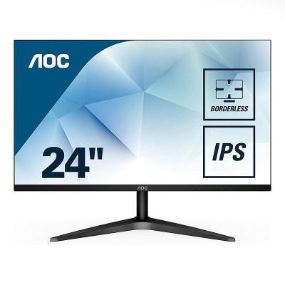 "Monitor AOC 23.8"" 60Hz Full HD Black (24B1XHS)"