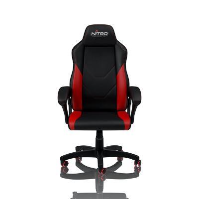 Cadeira Gaming Nitro Concepts C100 Preta/Vermelha