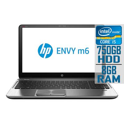 "Portátil HP ENVY M6 15"" i5-3210M 750GB/8GB Recondicionado"