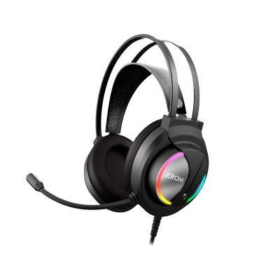 Headphones Gaming Krom Kappa RGB Black