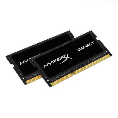 Memória RAM Kingston HyperX Impact 16GB (2x8GB) DDR3L SODIMM Preta