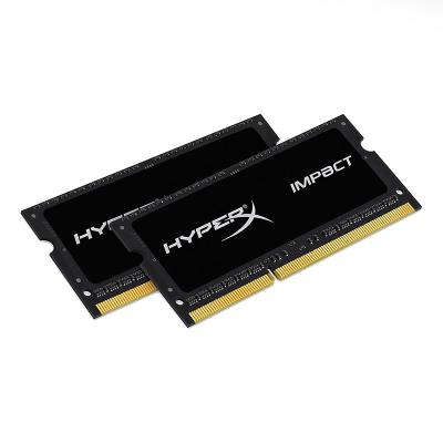 RAM Memory Kingston HyperX Impact 16GB (2x8GB) DDR3L SODIMM Black