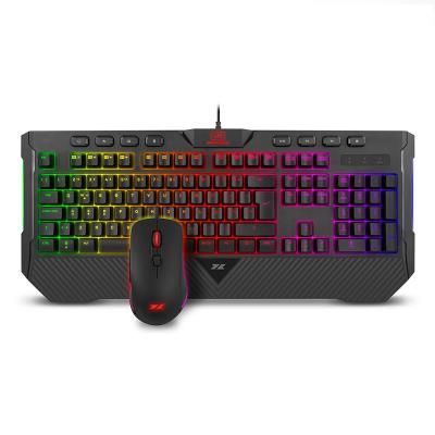 Keyboard + Mouse 1Life Spike Combo RGB Black