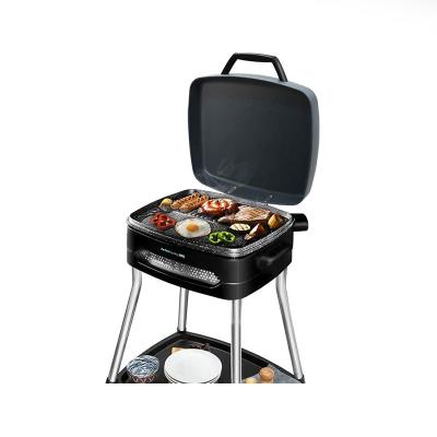 Electric Grill Cecotec PerfectCountry BBQ 2000W Black