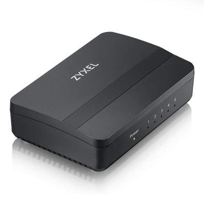 Switch Zyxel GS-105S V2 5 Portas 10/100/1000 Mbps Preto