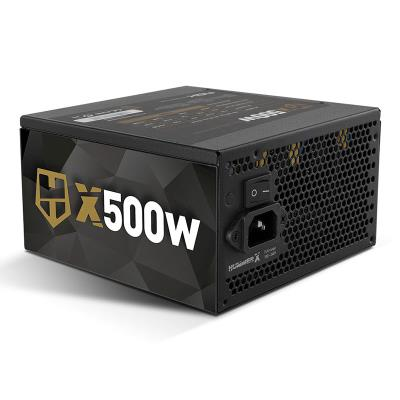 Power Supply Nox Hummer X 500W 80 Plus Bronze Black (NXHUMMERX500Z)