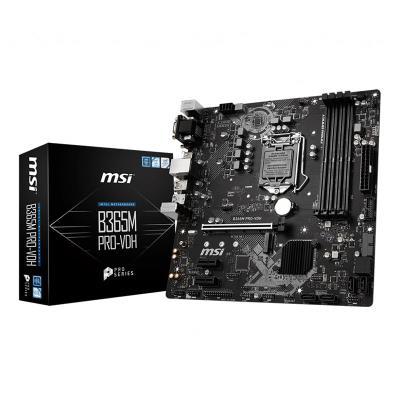 Motherboard MSI Micro-ATX B365M PRO-VDH LGA-1151