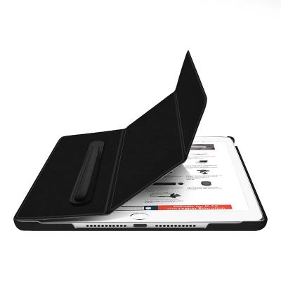"""Book Cover Cover Macally Apple iPad 10.2"""" 2019 Black"""