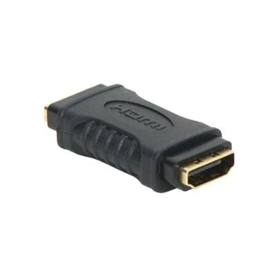 Adaptador HDMI F / HDMI F Preto