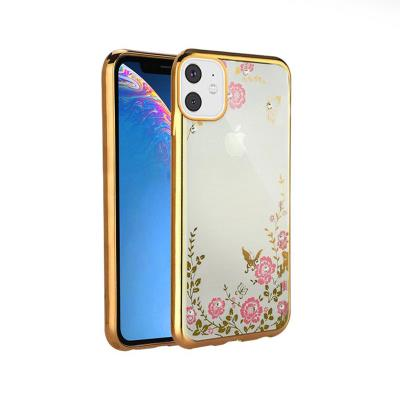 Protective Cover Forcell Diamond iPhone 11 Gold