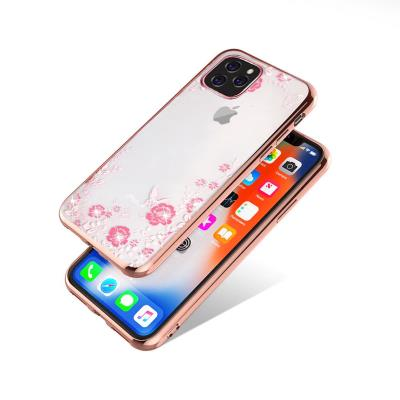 Protective Cover Forcell Diamond iPhone 11 Pink