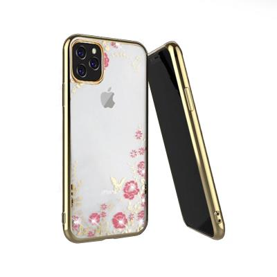 Protective Cover Forcell Diamond iPhone 11 Pro Gold